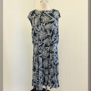 NWT Loft Plus Floral Dress Size 20 / 22